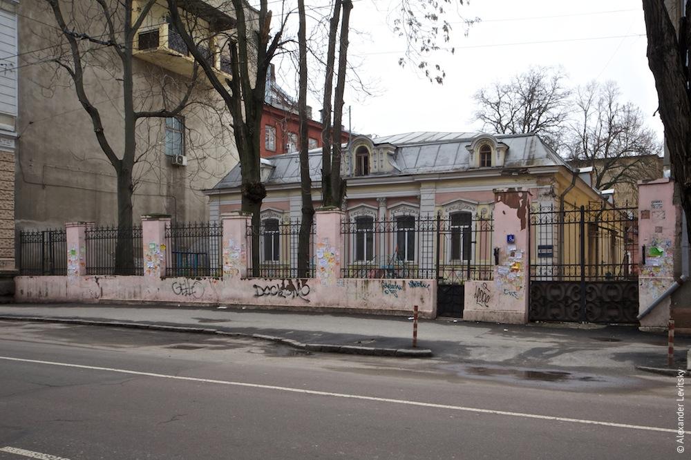 Архитектура Одессы. Как фотографировался особняк