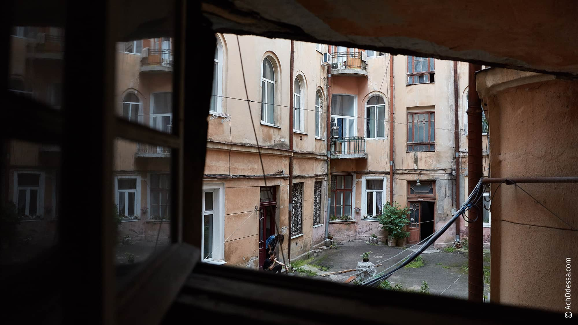 По маршруту Успенской улицы в Одессе