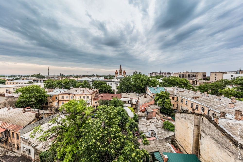 Вид на Одессу, Украина