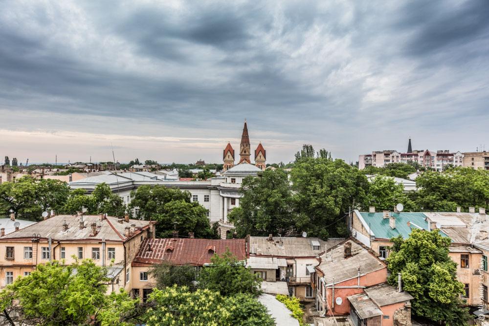 Вид на Кирху в Одессе, Украина
