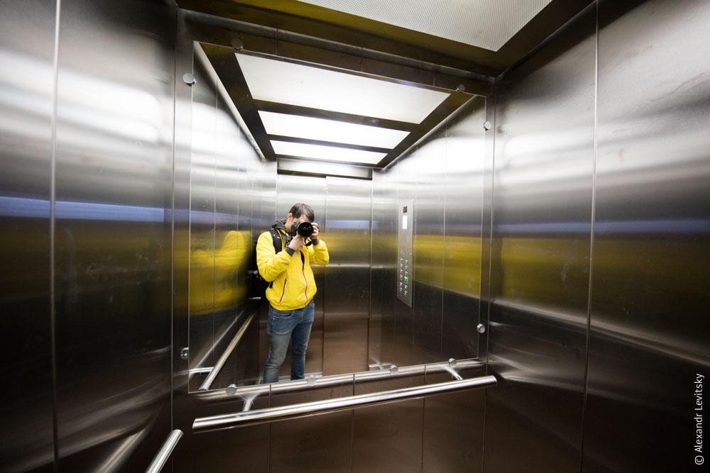 Лифт в Одессе, Украина