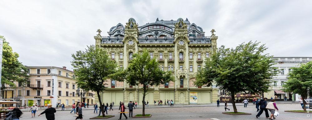 Гостиница Московская. Дерибасовская. Одесса, Украина