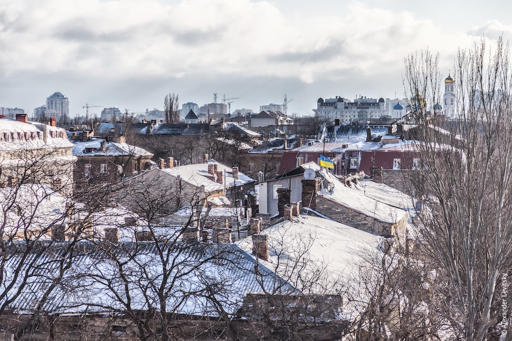 Украина, Снежная Одесса